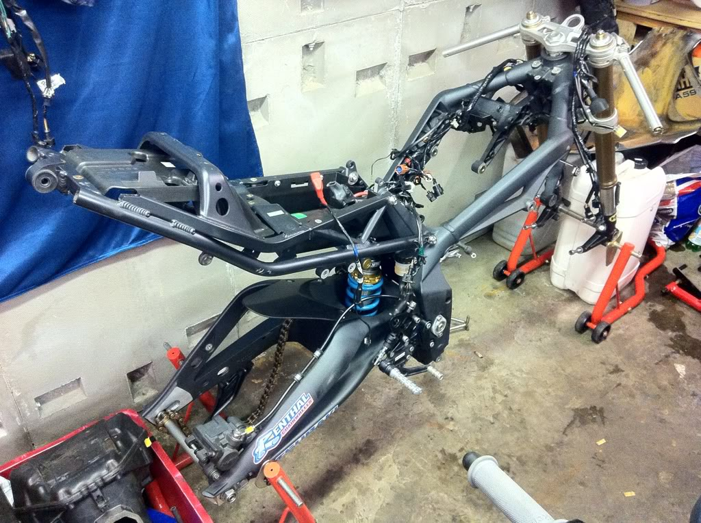 The Race Bike Build     Pic Heavy