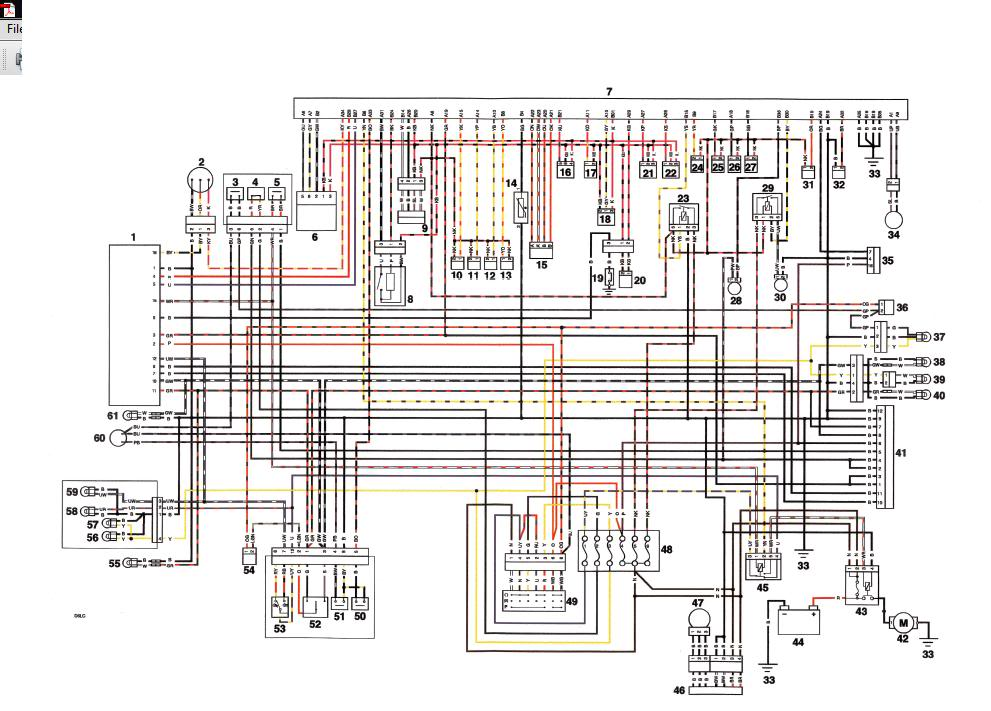 wiring diagram for alarm plug 675 cc \u2022 triumph 675 forum Bobcat Skid Steer Electrical Diagrams at bayanpartner.co