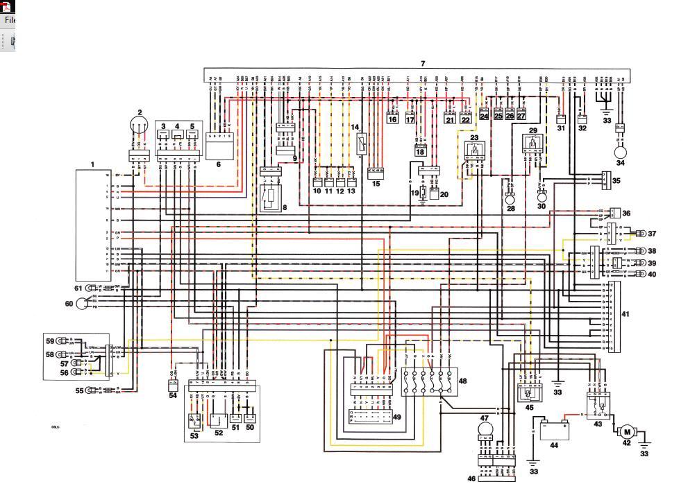 wiring       diagram    for alarm plug      675   cc     Triumph    675    Forum