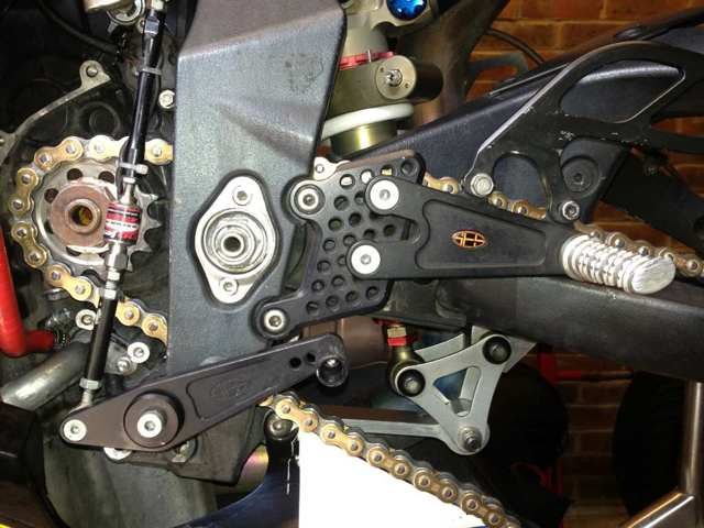 ses rearsets | 675 cc • Triumph 675 Forum