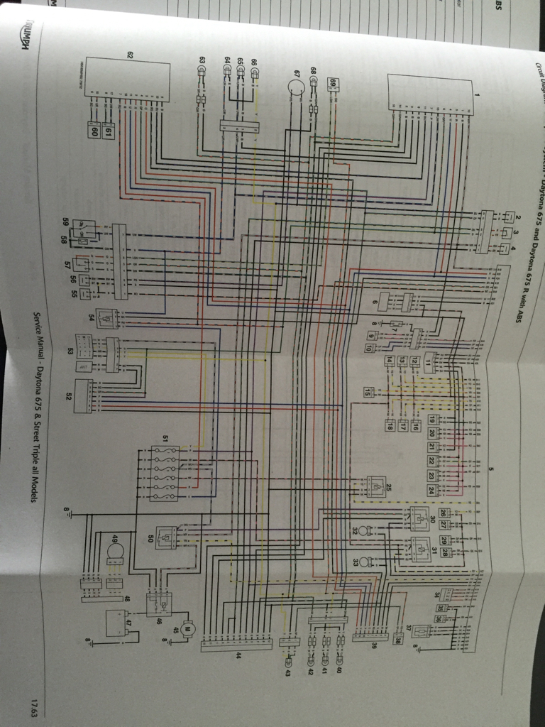 Diagram  Electrical Wiring Diagram Triumph Full Version